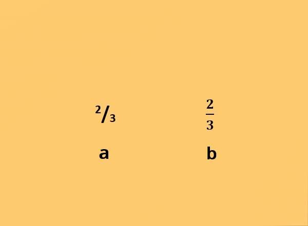 Penggunaan Superscript dan Subscript (a / kiri), dan Function (b / kanan) dalam Cara Membuat Pecahan di Word Android