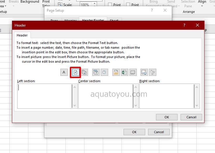 Cara Membuat Header Di Excel