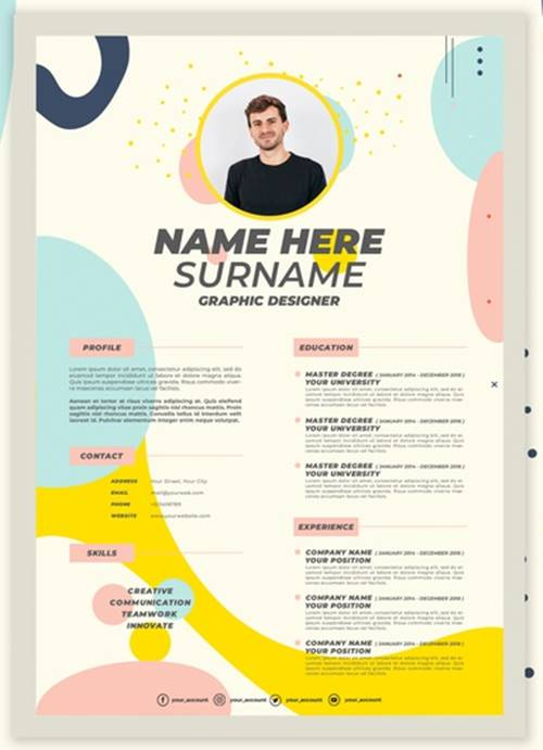 Download Template Curriculum Vitae 2020