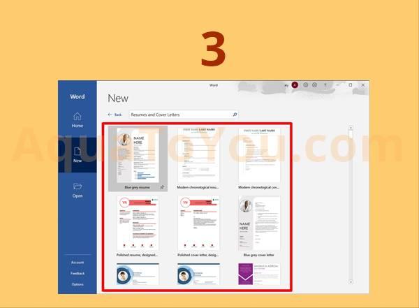 Template Curriculum Vitae Gratis Yang Disediakan Oleh Microsoft Word